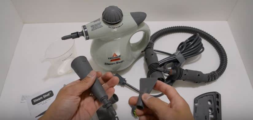 Best handheld steam cleaners reviews: The Bissell Steam Shot Hard Surface Cleaner
