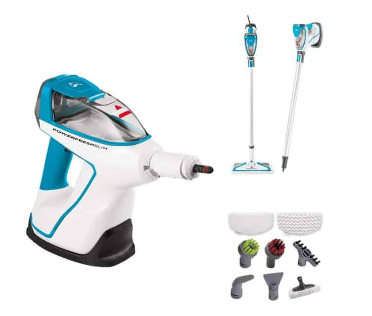 Bissell PowerFresh Slim Hard Wood Floor Steam Cleaner System Review