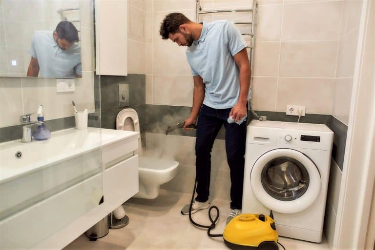 How to Steam Clean a Toilet & Bathroom Area